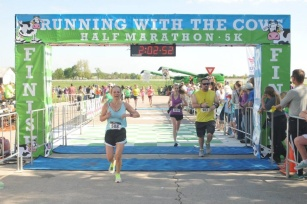 The finish line!