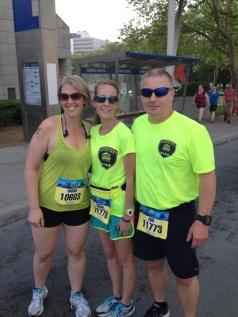 Sarah Grosko with Sarah & Eric Wilson