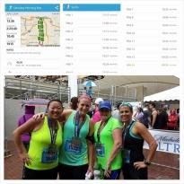 Run clubber LeeJae Wansing and a few of her running friends conquered the Hospital Hill Half Marathon.