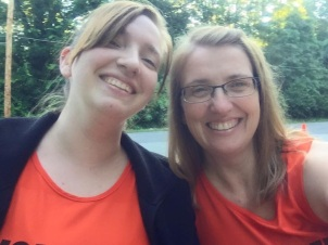 Stephanie and Julie Shellenberger volunteered as course monitors.
