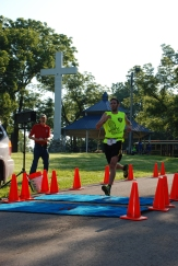 Nicholas Sloop finished in first place, overall, men's division.