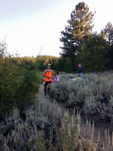 Russell Wenz finished the 50-mile Tahoe Rim Trail race in 13 hours, 11 minutes.